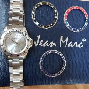 Jean Marc Watch with 4 Face Color Options